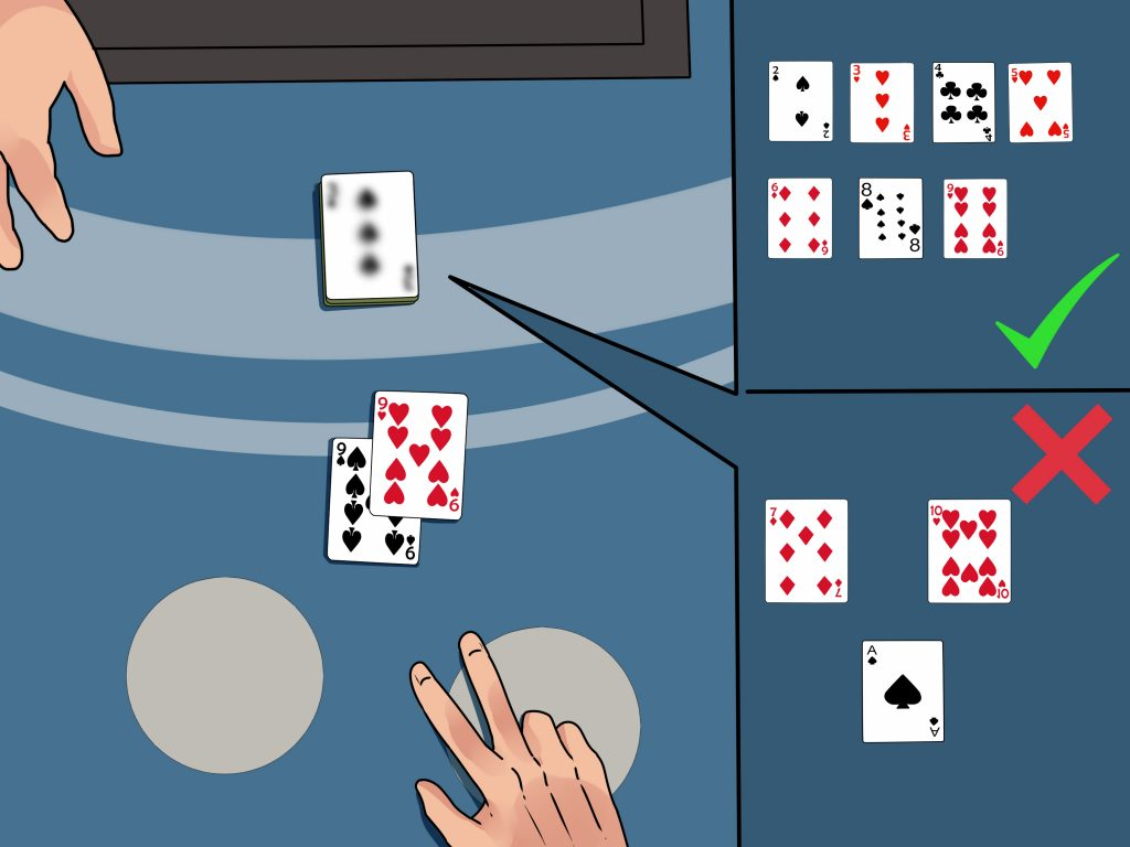 How to recognize when to split pairs in blackjack